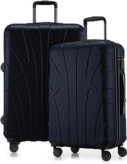 Valise bowatex alu optique Trolley TSA bagages extensible argent XL grande 77 cm