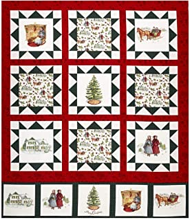 Riley Blake Designs Anne of Green Gables Digital 36in Panel Fabric by The Yard, Cream