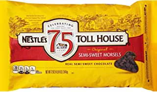 Nestle Chocolate Semi-Sweet Morsels (72 oz. bag) (pack of 6)