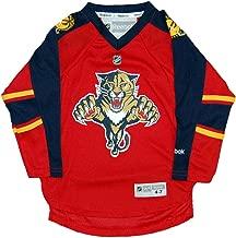 Reebok Florida Panthers NHL Toddler's Red Replica Jersey