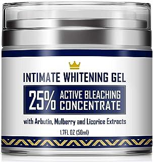 Intimate Whitening Cream - Made in USA Skin Lightening Gel for Body, Face, Bikini and Sensitive Areas - Underarm Bleaching...