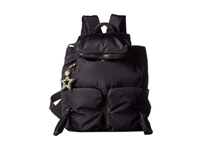 See by Chloe Nylon Joyrider Backpack (Black) Backpack Bags