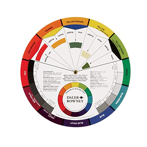 Point /& Match Rainbow Color Wheel Selector Dritz Quilting 3169 Pick