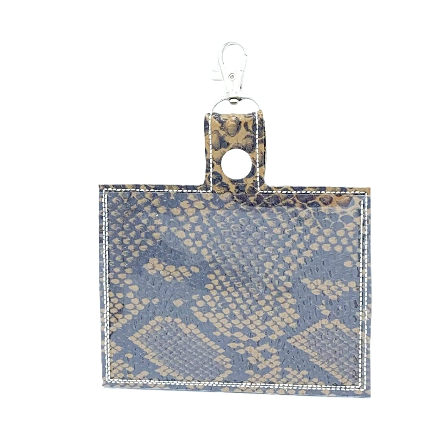 Sales results No. 1 Patterned Vaccine Card Holder with Latest item Keychain Snake Clip