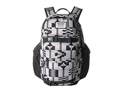 Burton Kilo Backpack (Pelican Brickstripe Print) Backpack Bags