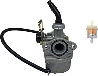 SHUmandala PZ19 Carburetor Cable Choke 19mm With Fuel Filter for 50cc 70cc 80cc 90cc 110cc 125cc Honda CRF Panterra Baja Kandi Motovox Sunl Redcat SSR Kazuma Meerkat Trailsport Taotao Dirt Bike ATV