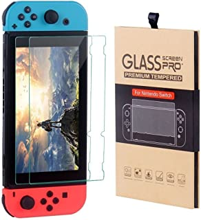CSL1 Screen Protector For Nintendo Switch 2 PACK Tempered Glass Screen Protector Premium Anti Scratch Clear HD 6.2 inch Tablet