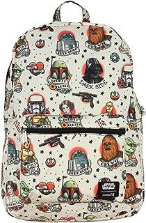 Star Wars Tattoo Print Travel School Backpack Book Bag