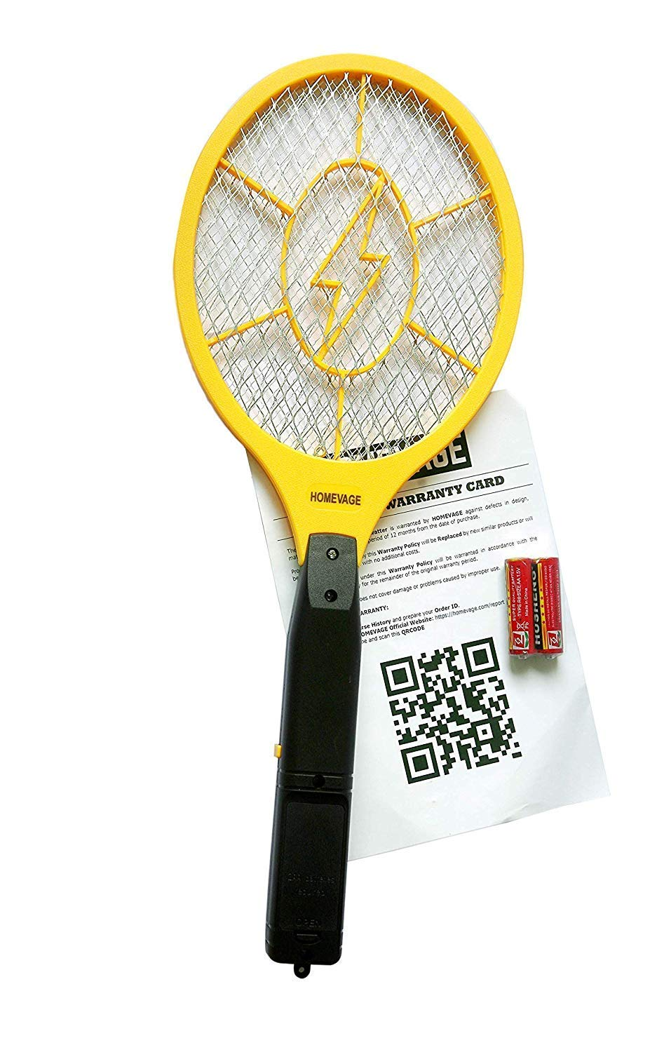 Electric Fly Swatter Handheld Batteries