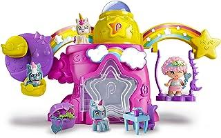 Pinypon - Casita De Las Estrellas-Incluye Figura y Mascota, para niños y niñas a Partir de 4 años, Multicolor (Famosa 700014262)