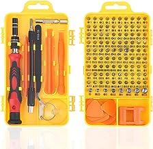 Set Cacciaviti Precisione Magnetici Professionali, Kit Cacciavite di Riparazione Portatile per Orologio, Occhiali, iPhone,...