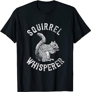 Vintage Squirrel Lover Gifts Squirrel Whisperer T-Shirt
