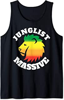 Junglist Massive Drum and Bass DnB Lion Tank Top