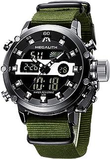 MEGALITH Orologio Uomo Orologi Militari Digitale Sportivo Cronografo LED Impermeabile Design Orologio Quadrante Grande Da ...