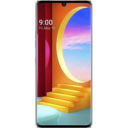 LG Velvet (Aurora Silver, 6GB RAM, 128GB Storage) - P-OLED FHD+ Display | Snapdragon 845 Processor, Small (LMG910EMW.AINDAS)