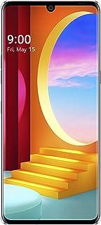 LG المخملية (أورورا الفضة، 6GB RAM، 128GB التخزين) - P-OLED FHD + العرض | أنف العجل 845 المعالج والصغيرة (LMG910EMW.AINDAS)