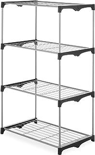 Whitmor 4 Tier Shelf Tower - Closet Storage Organizer