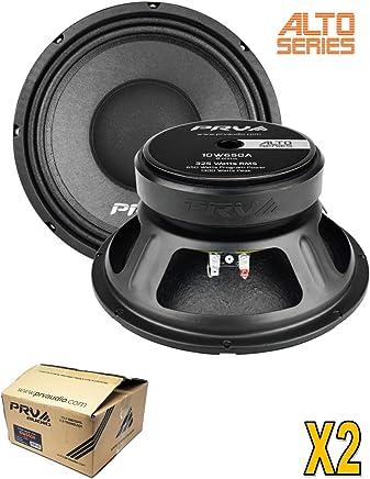 """$131 Get 2 x PRV Audio 10W650A 10"""" Sub Woofer Alto Series Pro Audio Bass Speaker 1300W 8 Ohm"""