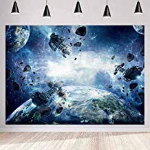 MEETSIOY Star Wars Backdrop Future Technology Spacecraft Photography Background Themed Party Photo Booth YouTube Backdrop 7x5ft PMT599