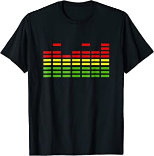 Equaliser T-Shirt Music Mixing
