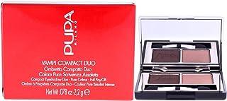 PUPA - Compact Eyeshadow Duo (004 BRONZE AMBER)