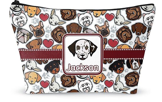 dog lover pouch dog makeup bag dog clutch Dog pouch dog portrait pouch PD-222 dog purse