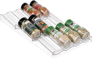mDesign Rangement à épices Polyvalent – Organiseur de tiroir en Plastique pour épices, compléments Alimentaires, médicamen...