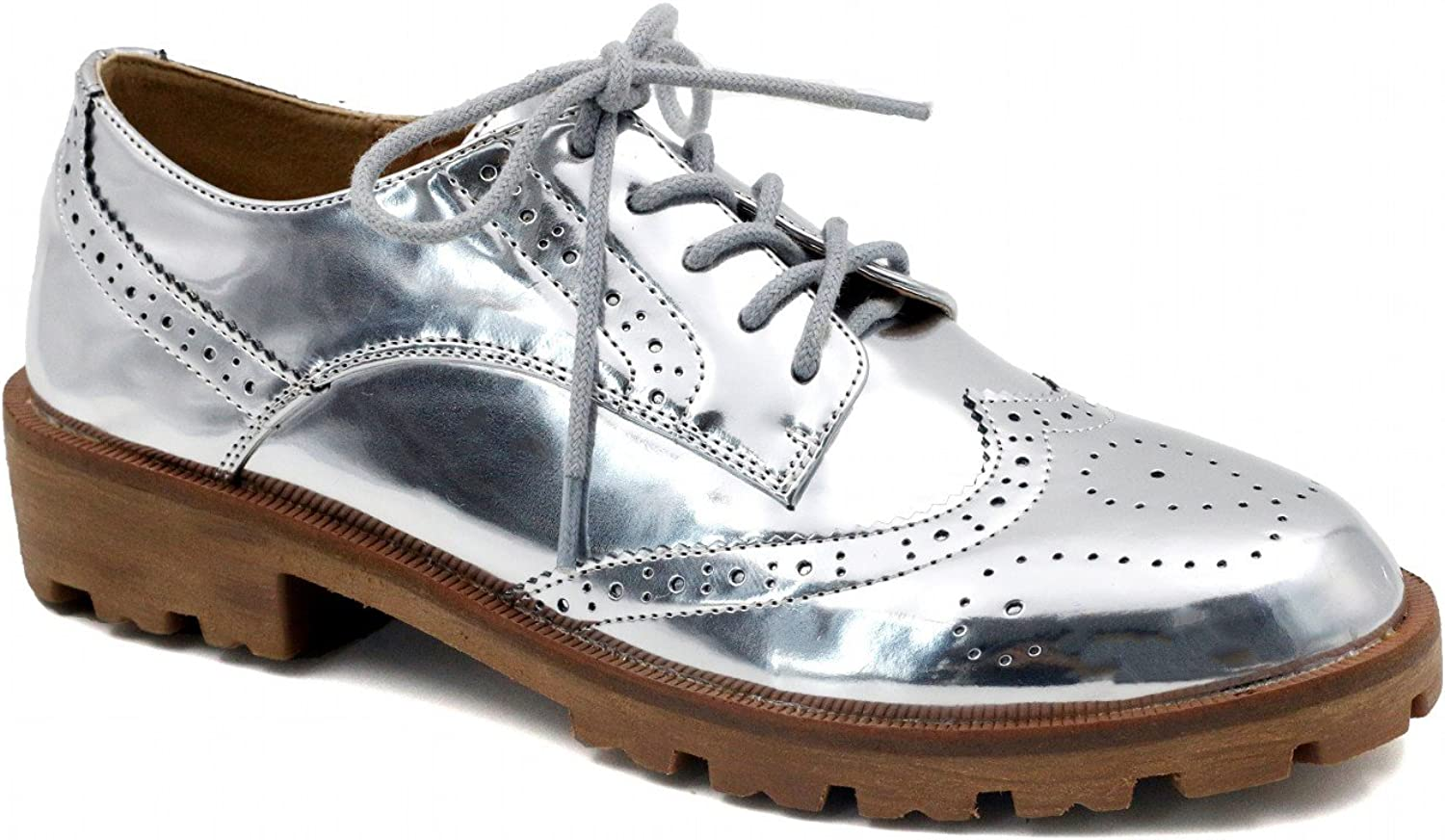 MaxMuXun Women Synthetic Comfort Oxford shoes