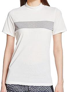 (ダンスキン) DANSKIN ランニングウェア ハイネック半袖Tシャツ DB77115 [レディース] DB77115 Z ミックスグレー M