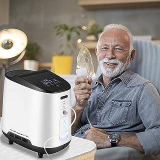 HUKOER Generator van de zuurstofconcentrator- 1~7L/min Regelbare - Intelligente Controle - Één Jaargarantie - Stille en Be...