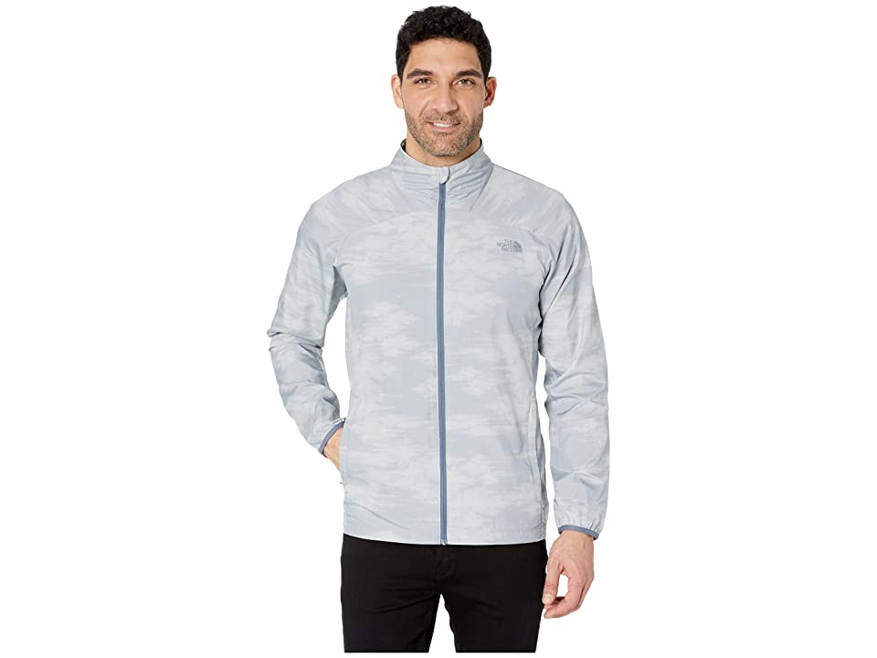The North Face Ambition Jacket (Mid Grey Nebula Print) Men