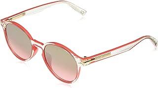 Marc Jacobs Marc224s Oval Sunglasses, Crycrl BK, 52 mm