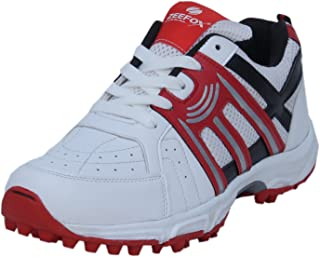 ZEEFOX Sports Flipper Men's Cricket Shoes Red