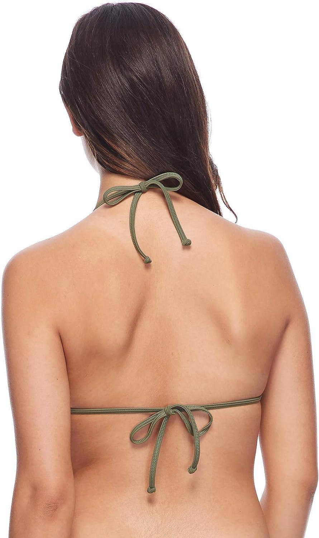 Body Glove Womens Baby Love Molded Cup Push Up Triangle Bikini Top Swimsuit