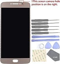 VEKIR Touch Display Digitizer Screen Replacement for Motorola Moto E4 Plus XT1770 XT1773(Golden)