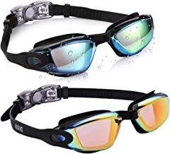 Aegend Kids Swim Goggles, Pack of 2 Swimming Goggles for...