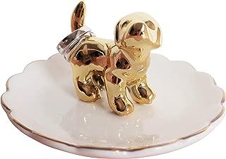 dog ring holder dish