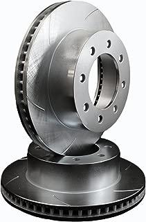 ATL Autosports Performance Brake Rotors FRONT PAIR Fits 1994 Dodge Ram 2500 [4WD] [W/Dana 44 Front Axle] ATL05593-54SO