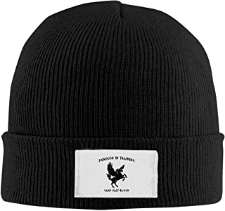 AUCAMP Beanie Caps Camp Half Blood Demigod in Training Knitted Hats Unisex Skull Caps