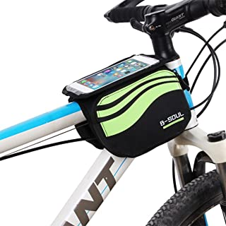 moonlux Bolso de Bicicleta Triangle Bolsa Frontal de Tubo para Bicicleta Impermeable Alforjas Delantera Triangulo Bolsa del Tubo Frontal Titular Tri/ángulo Ciclismo Bicicleta
