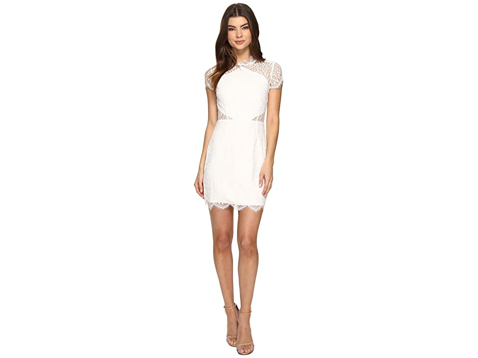 KEEPSAKE THE LABEL Day Dream Lace Mini Dress (Ivory) Women