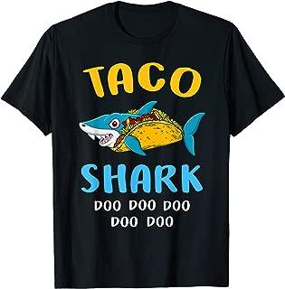 Funny Taco Shark Shirt Gift For Men Women Kids
