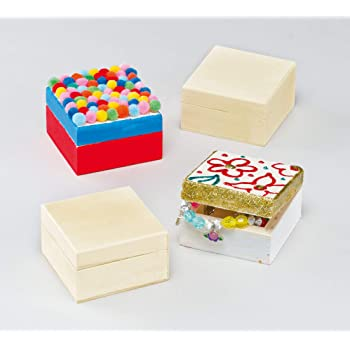 Baker Ross Cajas de Manualidades Para Decorar (paquete de 4) para ...