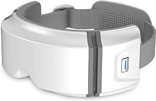 ماساژور Comfier Eye با گرما و لرزش ، ماسک ماساژور فشرده سازی هوا با ماساژور قابل شارژ چشم و ماساژ تمپل برای خشکی چشم ، حلقه های تیره ، بهبود کیفیت خواب ، هدایای ایده آل