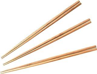 酒井産業 調理箸3膳組 キッチン用品 孟宗竹(炭化加工) 約長33cm 食卓 調理 料理 竹製 菜箸 先端を角型に加工 使いやすい 日本製