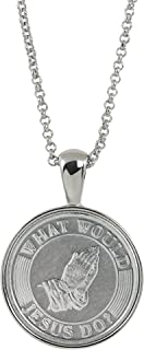 American Coin Treasures What Would Jesus Do Coin Pendant