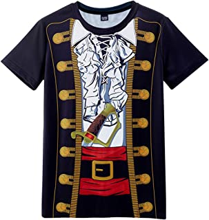 Funny World Men's Pirate Costume T-Shirts