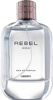 Liberty LUXURY Rebel Perfume (100ml / 3.4 Oz) for Men, Woody Aromatic, Lemon, Lavender, Tobacco, Musk Notes, Long Lasting ...