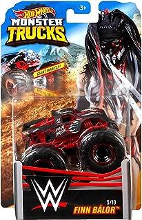Finn Balor Wrestling Monster Jam Truck with Giant Wheels 1:64 Scale