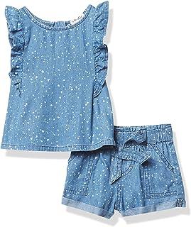 Splendid baby-girls RNS2813 Baby and Toddler T-Shirt Set
